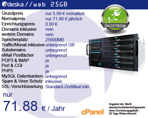 adeska//web 25GB